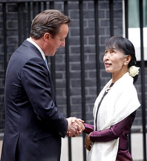 Aung San Suu Kyi Uk visit: Aung San Suu Kyi Uk visit