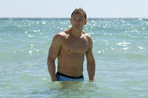 10 Bond Outfits: Daniel Craig in a still from the James Bond film Casino Royale