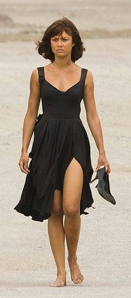 10 Bond Outfits: Olga Kurylenko, Quantum of Solace