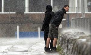 Rain in Porthcawl