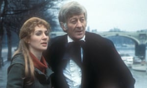 Caroline John and Jon Pertwee in the Doctor Who episode The Ambassadors of Death