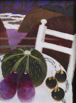 Mary Fedden: The Spanish Chair, a painting by Mary Fedden