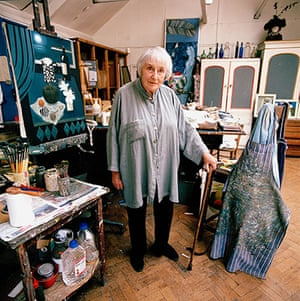 Mary Fedden: Mary Fedden, the artist in her studio