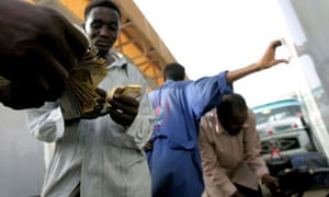 Sudanese man pays for fuel