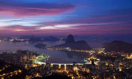 Sunrise in Rio de Janiero, Brazil