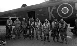 World War Two. England. 1944. RAF Bomber Command.