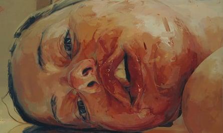 Jenny Saville's Reverse, 2002-2003