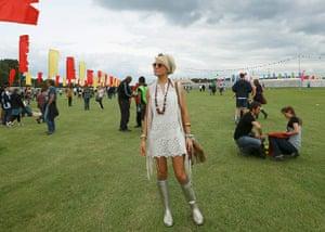 Hackney festival: Festival goers arrive