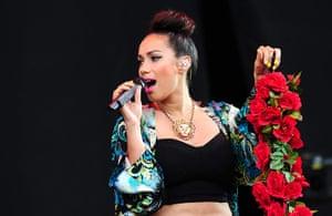 Hackney festival: Leona Lewis sings