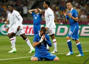 sport9: Italy's De Rossi