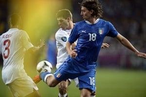 sport14: Italian midfielder Riccardo Montolivo (R