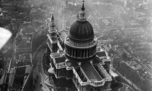 Aerial photos of Britain go online: St Paul's Cathedral