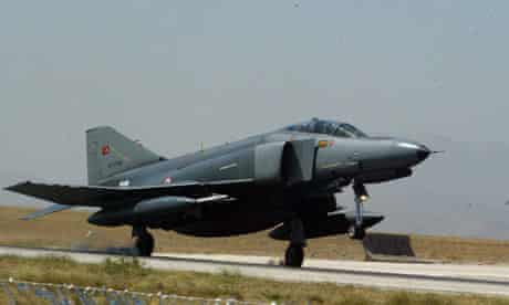 Turkish military jet