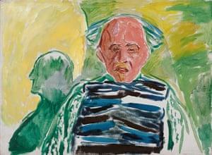 Edvard Munch: Self-Portrait 1940-43, by Edvard Munch