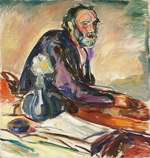 Edvard Munch: Self Portrait With Spanish Flu 1919, by Edvard Munch