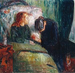 Edvard Munch: The Sick Child 1907 , by Edvard Munch