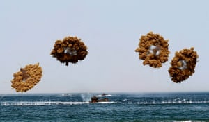 24 hours: Taean, South Korea: The South Korean Marine corps in action