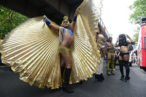 Gay pride week: Berlin, Germany: Participants get ready for Berlin's annual march