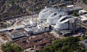 Birmingham New Hospitals PFI project in 2008