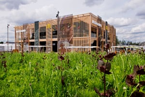 McDonald's Olympic park: McDonald's first sustainable fast food restaurant