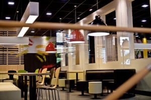 McDonald's Olympic park: Another interior of the Mc Donald's at the Olympic park