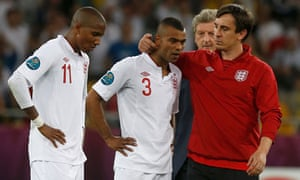 Ashley Young and Ashley Cole