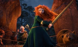 Brave: Princess Merida, voiced by Kelly Macdonald