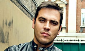 Dan Penteado, pictured presenting BBC's Rogue Traders