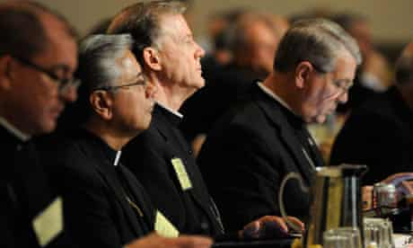 The US Conference of Catholic Bishops in session in Atlanta, Georgia, June 2012