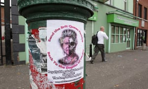 An anti-queen poster