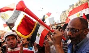 Morsi supporters in Cairo