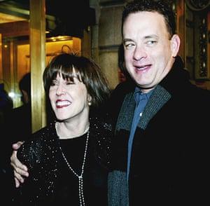Nora Ephron: Nora Ephron and Tom Hanks