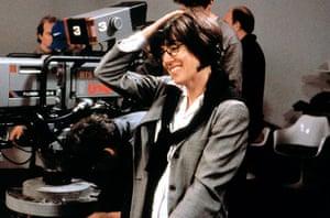 Nora Ephron: Nora Ephron directing in 2000