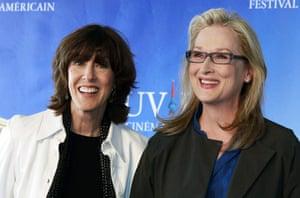 Nora Ephron: Nora Ephron and Meryl Streep