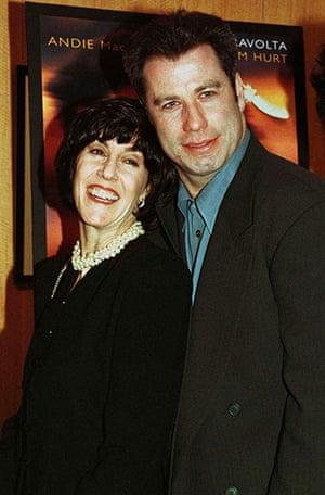 Nora Ephron: Nora Ephron with John Travolta
