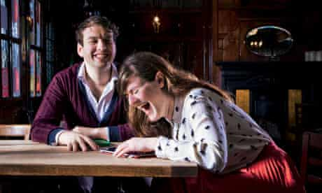 Online love: Sam Pinney and Katherine Wheatley