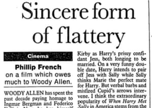 When Harry Met Sally review from Observer
