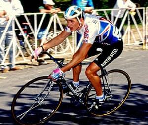 50 moments: Chris Boardman cycling