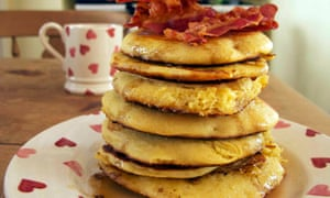Felicity's perfect American pancakes