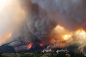 Wildfires in Colorado: Around 32,000 people have been evacuated from the path of the fire