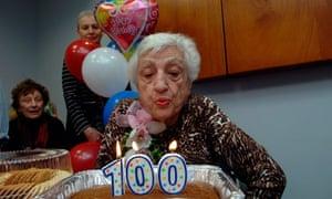 Women generally live longer