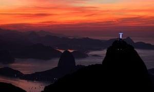 Dawn in Rio de Janeiro