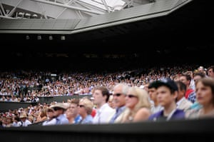 Wimbledon Day 3: Packed house in the Centre Court