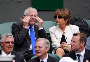 Wimbledon Day 3: Nick Hewer at Wimbledon 2012