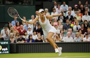 Day 3 Wimbledon: Caroline Wozniacki at Wimbledon 2012