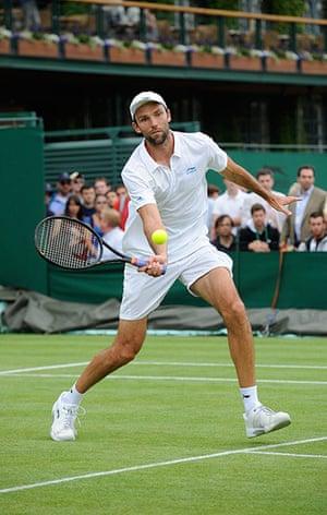 Day 3 Wimbledon: Ivo Karlovic at Wimbledon 2012