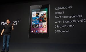 Nexus 7 tablet unveiled
