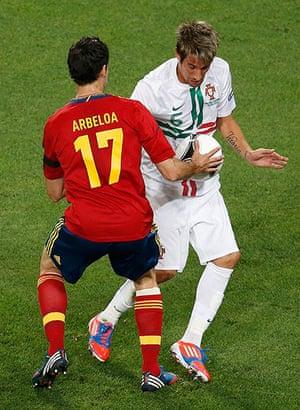 sport7: Spain's Arbeloa