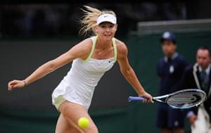 Day 3 Wimbledon: Maria Sharapova at Wimbledon 2012