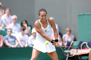 Day 3 Wimbledon: Heather Watson at Wimbledon 2012
